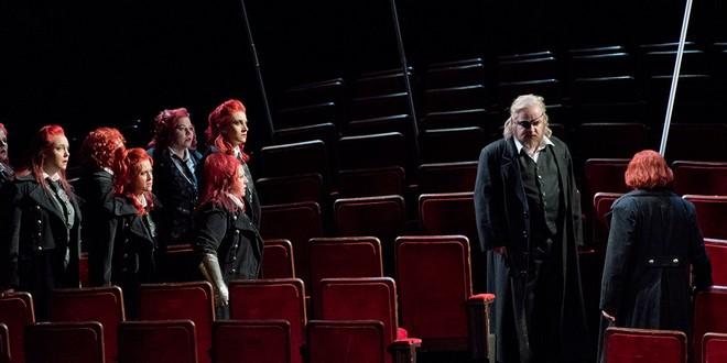Richard Wagner: Die Walküre (Der Ring des Nibelungen) – Semperoper Drážďany 2016 (foto Frank Hoehler)