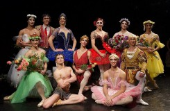 Baletní klasika trochu jinak: Ballet Hommes Fatals u Hybernů