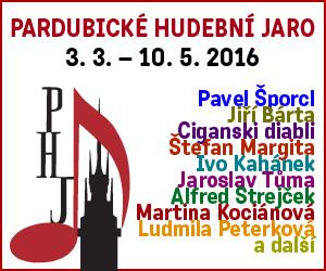 banner Pardubické hudební jaro