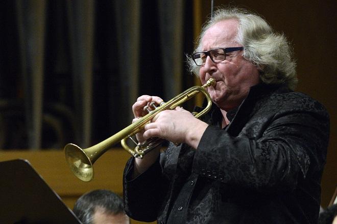 V hlavní roli trubka - Reinhold Friedrich (foto Ivan Korč)