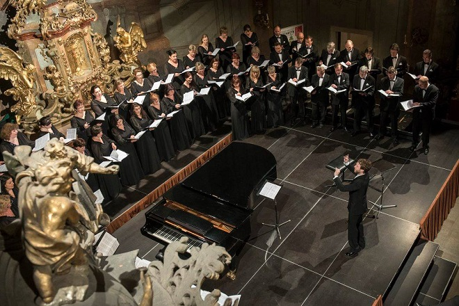 Pražský filharmonický sbor - Lukáš Vasilek - Praha 24.2.2016 (zdroj FB PFS)