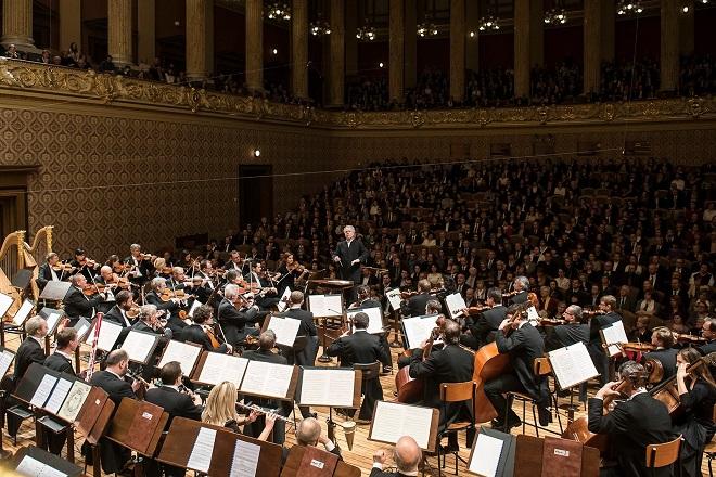 Česká filharmonie - Manfred Honeck - Praha 9.3.2016 (zdroj FB ČF)