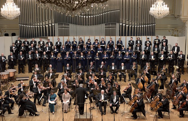 Felix Mendelssohn-Bartholdy: Eliáš – Slovenská filharmónia & Petr Altrichter – Koncertná sieň SF Bratislava 2016 (foto Jan Lukas)
