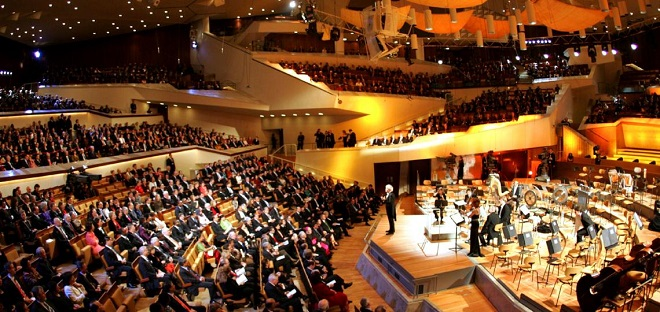 Philharmonie Berlin (foto archiv)