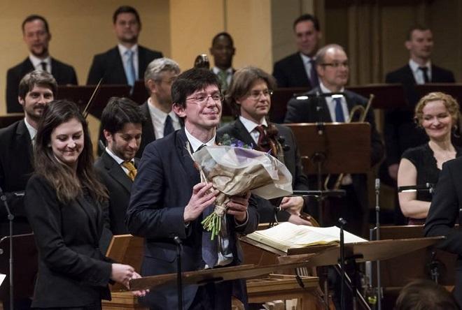 G.F.Händel: Mesiáš - Václav Luks, Collegium 1704 - 22.3.2016 Rudolfinum (zdroj FB C1704)