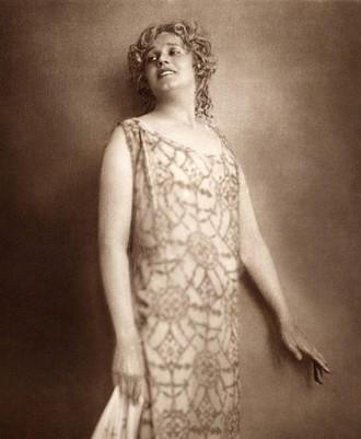 Maria Jeritza jako Egyptská Helena - Vídeň 1928 (foto Imagno/Getty Images)