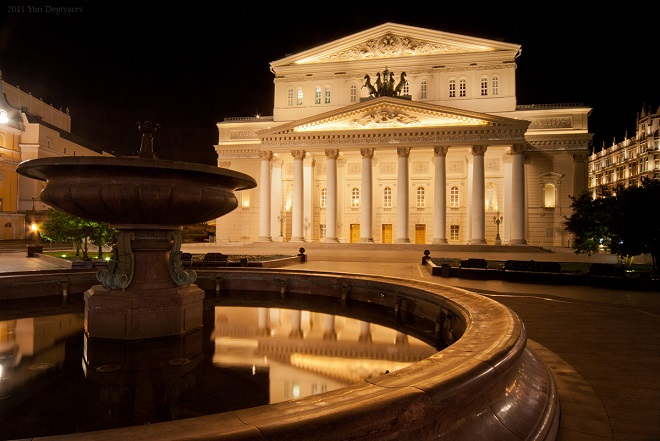 Bolšoj těatr Moskva (foto archiv)