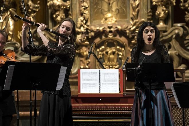 Collegium Marianum - Jana Semerádová, Hana Blažíková (foto Petra Hajská)