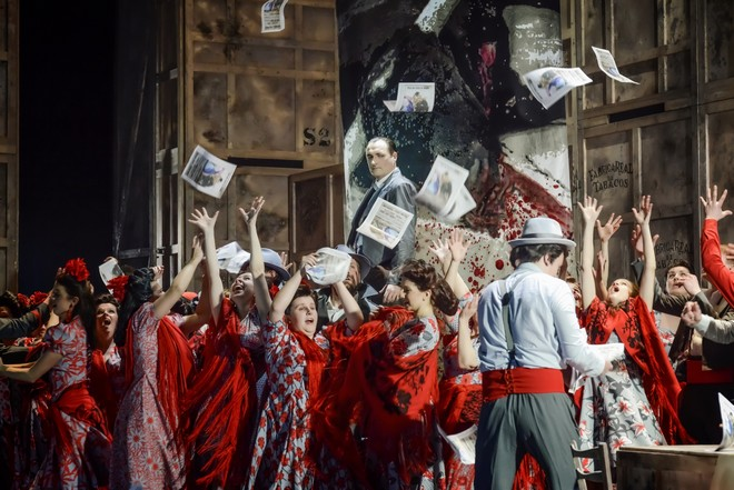 Georges Bizet: Carmen – Svatopluk Sem (Escamillo) - ND Brno 2016 (foto Marek Olbrzymek)