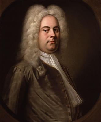 Georg Friedrich Händel (foto Balthasar Denner)