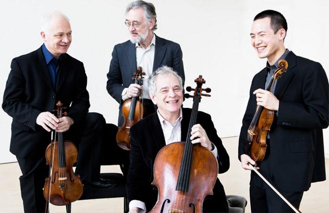 Juilliard String Quartet (foto web Juilliard String Quartet)