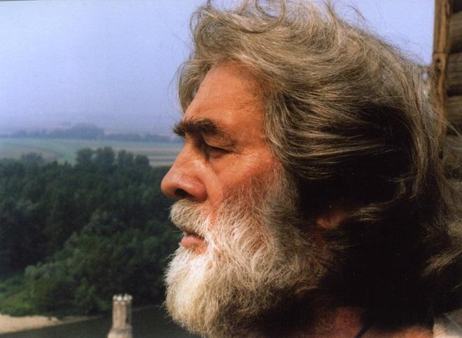 Ondrej Malachovský ako Svätopluk vo filmovej opere Hrad Děvín 2011 (foto archív)