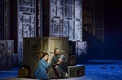 G. Bizet: Carmen - Jana Šrejma Kačírková (Michaela), Luciano Mastro (Don José) - ND Brno 2016 (zdroj FB NDB)