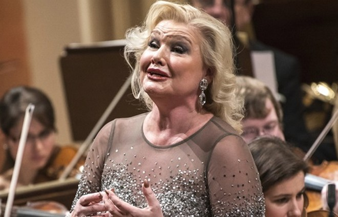 Karita Mattila (zdroj Česká filharmonie)