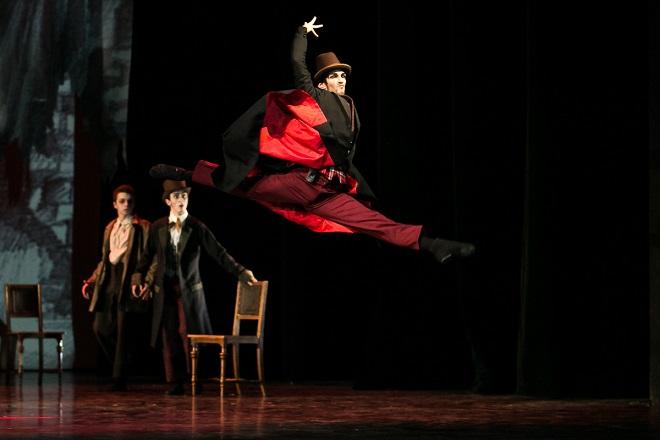 Andreo: Oliver Twist - Bohemia Balet, Taneční konzervatoř hl. m. Prahy - ND Praha 2016 (foto Michal Hančovský)