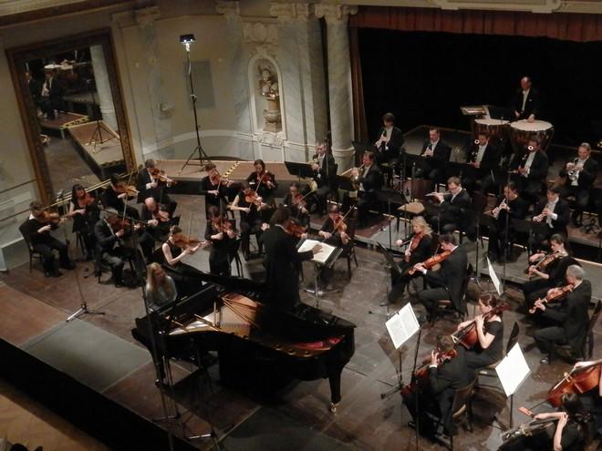 Mezinárodní smetanovská klavírní soutěž 2016: Koncert vítězů - Michaela Augustinová (foto Petr Bureš)
