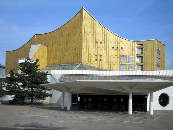 Berlínská filharmonie (foto archiv autora)