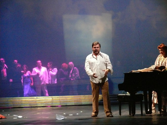 Richard Strauss: Ariadna na Naxe - Sergej Larin (Bacchus) - SND Bratislava