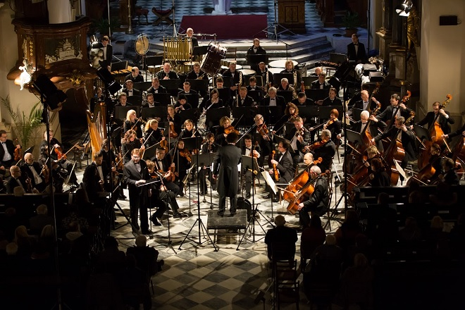 Velikonoční festival duchovní hudby Brno - Janáčkova filharmonie Ostrava, Heiko Mathias Förster, Brno 20.3.2016 (foto Petr Francán)