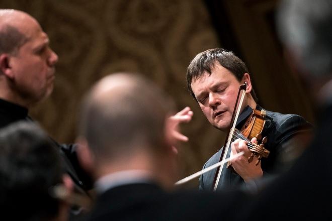Frank Peter Zimmermann, Česká filharmonie a Jaap van Zweden - Praha 16./17./18.3.2016 (foto © Petra Hajská)