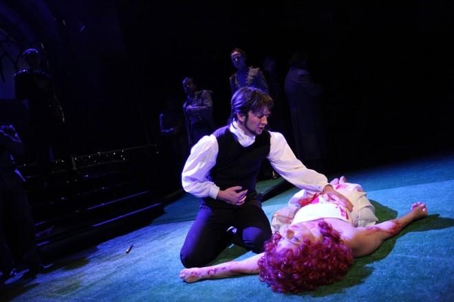 Ondřej Koplík jako Edgardo v Lucii z Lammermooru