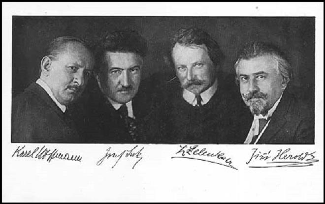České kvarteto (foto archiv)