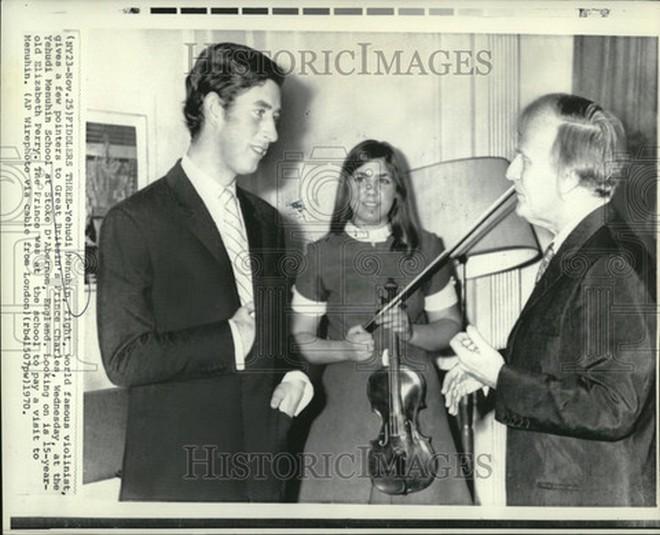 Prince Charles a Menuhin (foto archiv autora)