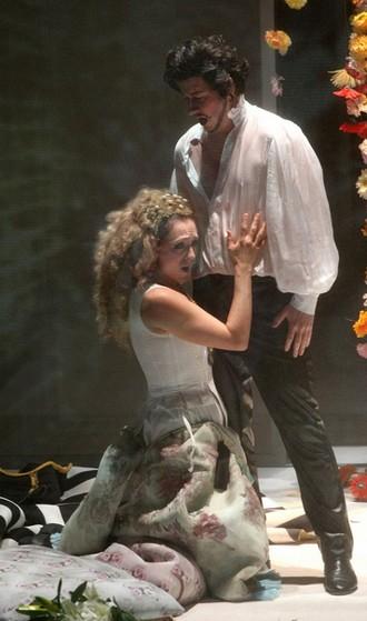 Ondřej Koplík jako Vévoda z Mantovy v Rigolettovi