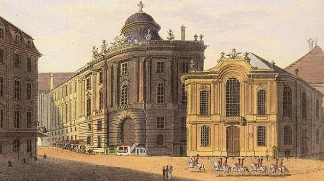 Starý Burgtheater (foto archiv)