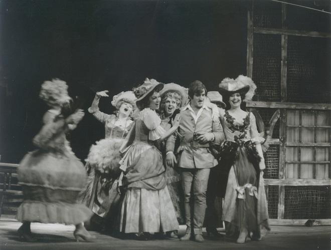 B. Brecht: Žobrácka opera - SND 1977 (foto archív SND)