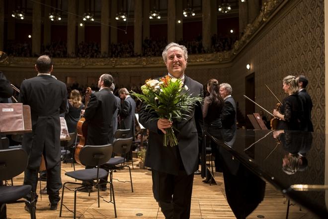 Česká filharmonie - Manfred Honeck - Praha 27.4.2016 (foto Petr Kadlec)