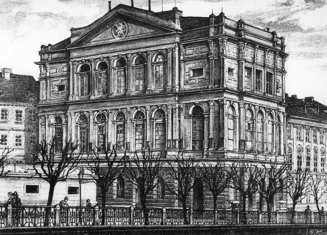 Prozatímní divadlo (zdroj theatre-architecture.eu/archiv J. Hilmery)