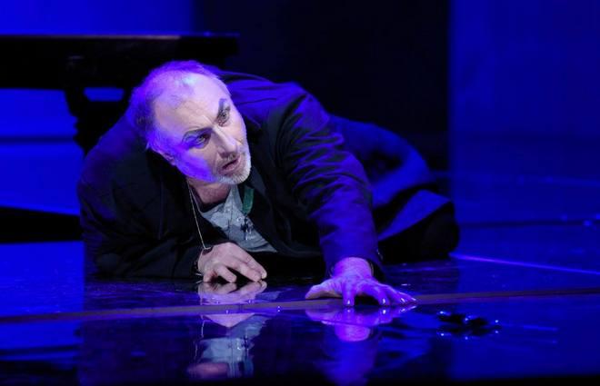 G.Verdi: Macbeth – Pavel Klečka (Macbeth) – DJKT Plzeň 2016 (foto Pavel Křivánek)