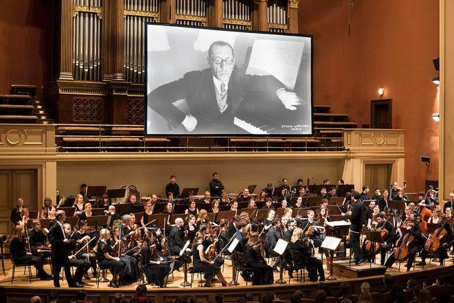 Čtyři kroky do nového světa / Igor Stravinskij - Rudolfinum 20.-22.4.2016 (zdroj FB ČF)