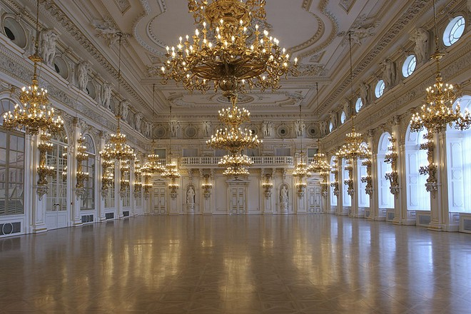Španělský sál Pražského hradu (zdroj kralovskacesta.cz)