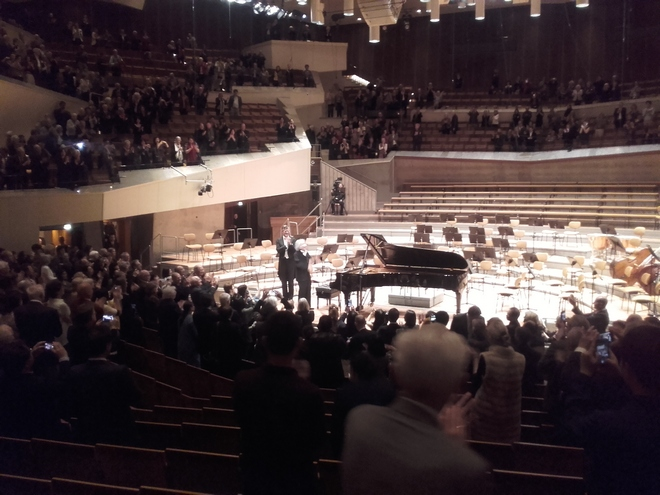 Filharmonie Berlín - 8. 4. 2016 (foto autor)