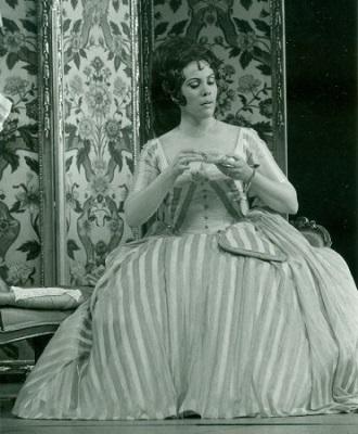 W.A.Mozart: Le nozze di Figaro (foto Ellinger 1972 / Archiv der Salzburger Festspiele)