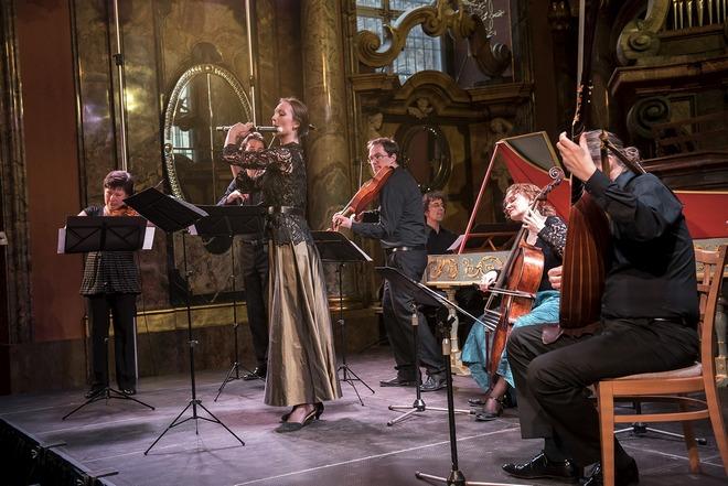 Barokní podvečery - Collegium Marianum - 14.4.2016 (foto Petra Hajská)