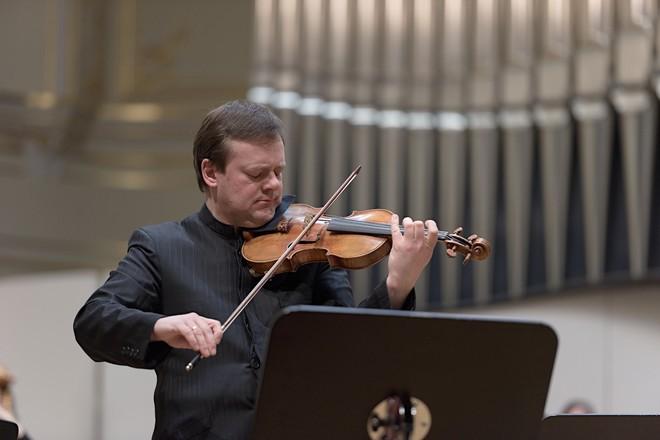 Frank Peter Zimmermann - Koncertná sieň Slovenskej filharmónie Bratislava 2016 (foto © Ján Lukáš)
