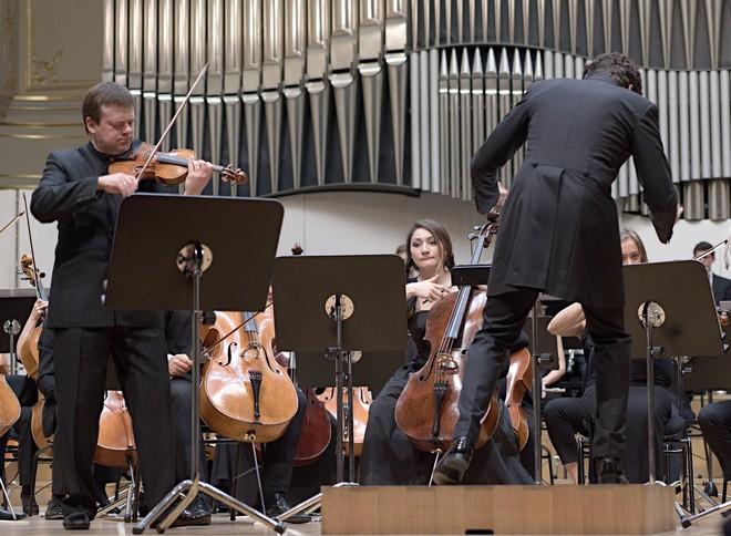 Gustav Mahler Jugendorchester, David Afkham, Frank Peter Zimmermann - Koncertná sieň Slovenskej filharmónie Bratislava 2016 (foto © Ján Lukáš)