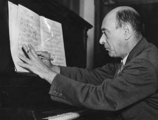Arnold Schönberg (foto archiv)