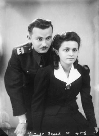 Alfréd Radok s manželkou Marií (zdroj divadelni-noviny.cz/archiv Davida Radoka)