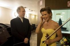 Královské manýry slavné houslistky