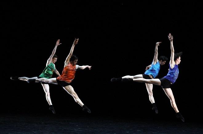 Davide Bombana: Polychrome Dances - Bayerisches Staatsballett II - ND Praha (foto Hana Smejkalová)