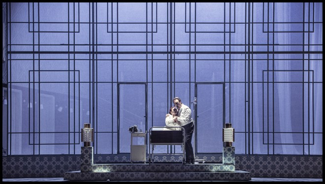 Charles Gounod: Romeo a Julie (Roméo et Juliette) - Jana Šrejma Kačírková (Julie), Martin Šrejma (Romeo) - ND Praha 2016 (foto Patrik Borecký)