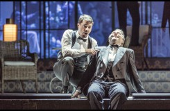 Charles Gounod: Romeo a Julie (Roméo et Juliette) - Jiří Brückler (Mercutio), Martin Šrejma (Romeo) - ND Praha 2016 (foto Patrik Borecký)