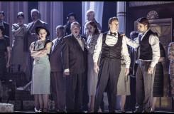 Charles Gounod: Romeo a Julie (Roméo et Juliette) - Martin Šrejma (Romeo), Michal Bragagnolo (Benvolio) - ND Praha 2016 (foto Patrik Borecký)