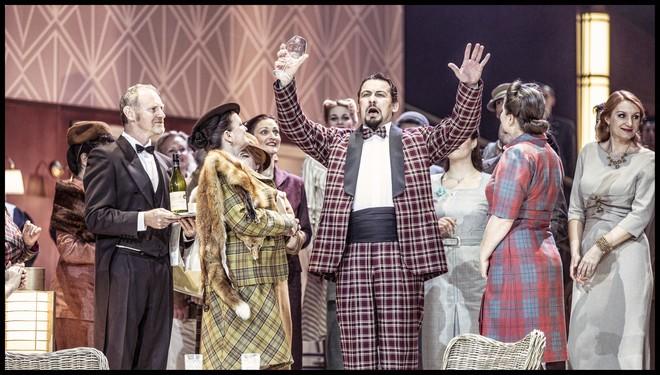 Charles Gounod: Romeo a Julie (Roméo et Juliette) - Martin Bárta (Hrabě Kapulet) - ND Praha 2016 (foto Patrik Borecký)
