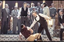 Charles Gounod: Romeo a Julie (Roméo et Juliette) - Michal Bragagnolo (Benvolio), Martin Šrejma (Romeo), Martin Gyimesi (Tybalt) - ND Praha 2016 (foto Patrik Borecký)
