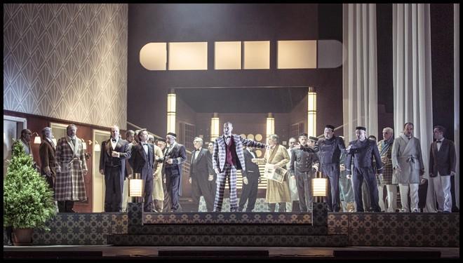 Charles Gounod: Romeo a Julie (Roméo et Juliette) - ND Praha 2016 (foto Patrik Borecký)